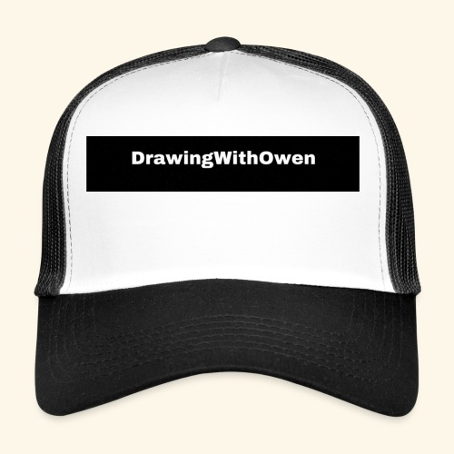 drawing with owen products - Trucker Cap