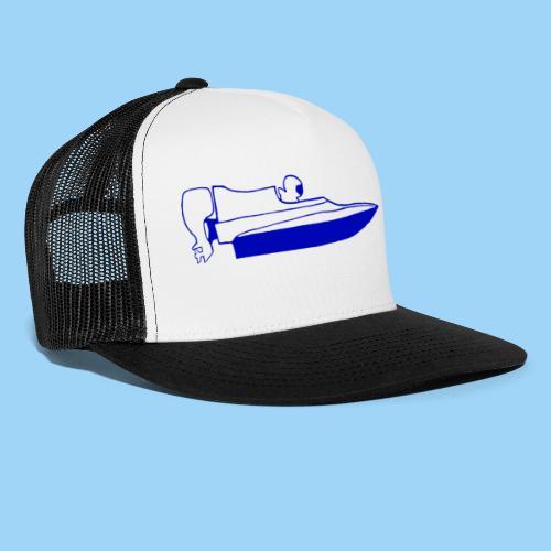 powerboat GT30/GT15 Blue - Trucker Cap