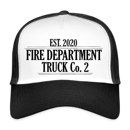 Truck Co.2 - BLACK - Trucker Cap