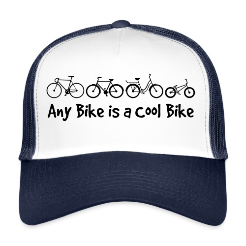 Any Bike is a Cool Bike Kids - Trucker Cap