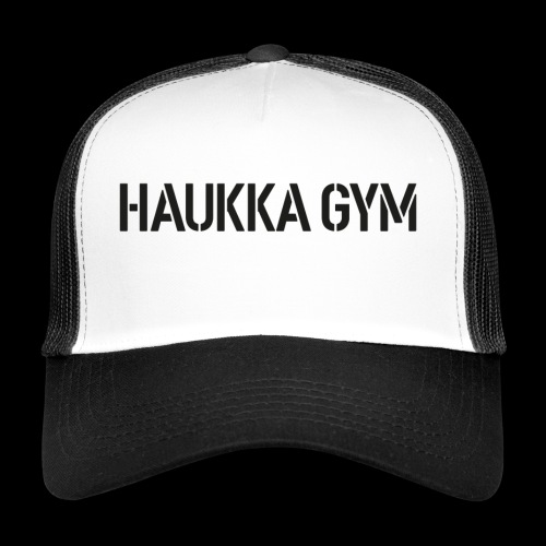 HAUKKA GYM text - Trucker Cap