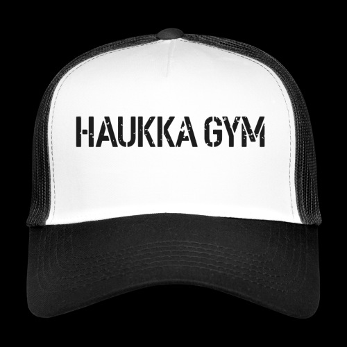 HAUKKA GYM roso text - Trucker Cap