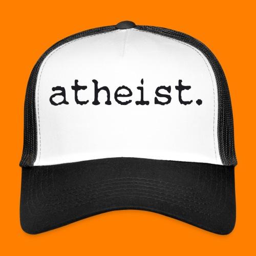 atheist BLACK - Trucker Cap