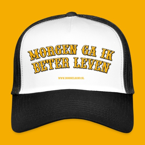mgibl yllw outline2 - Trucker Cap