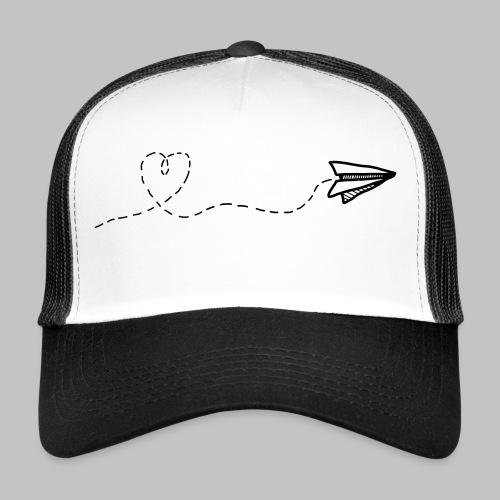fly heart - Trucker Cap