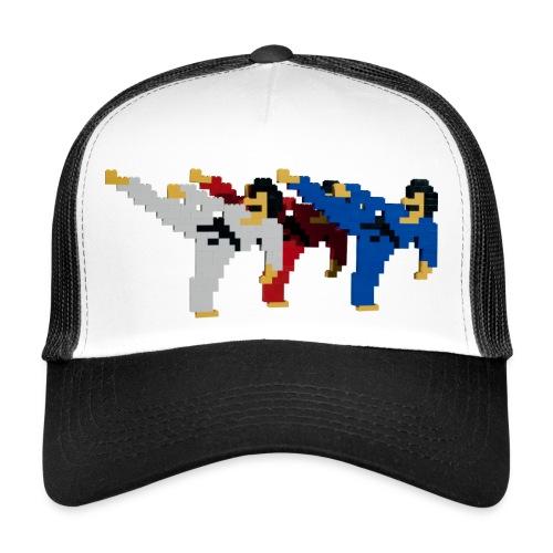 8 bit trip ninjas 2 - Trucker Cap