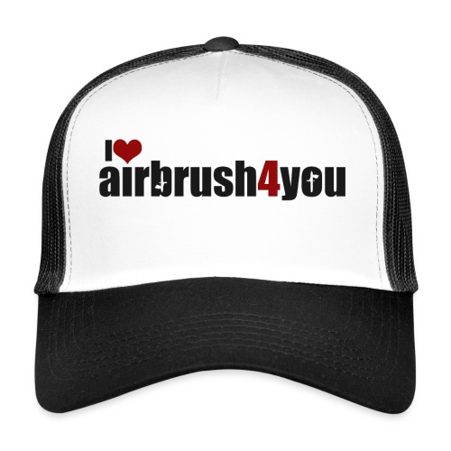 I Love airbrush4you - Trucker Cap