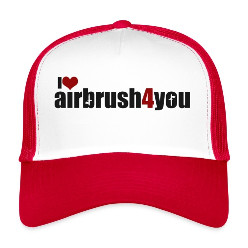 I Love airbrush4you - Trucker Cap