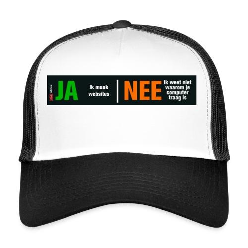 Ja ik maak websites - Trucker Cap