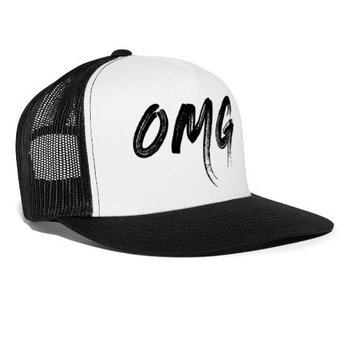 OMG, musta - Trucker Cap