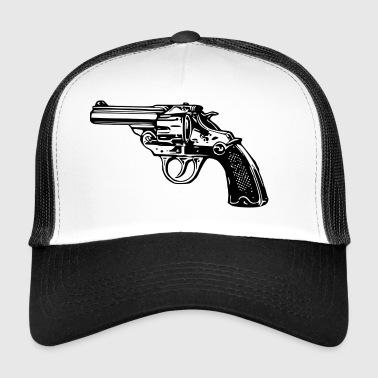 arma pistola revolver - Gorra de camionero