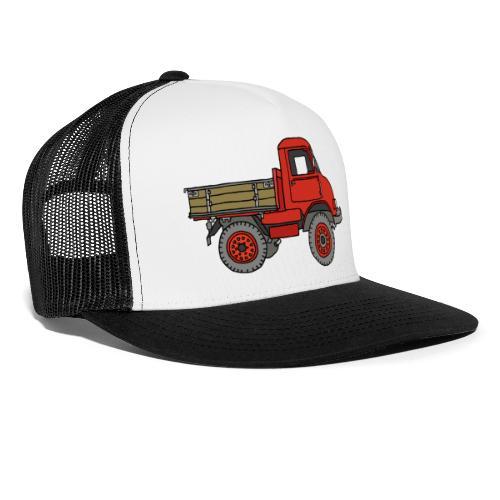 Roter Lastwagen, LKW, Laster - Trucker Cap