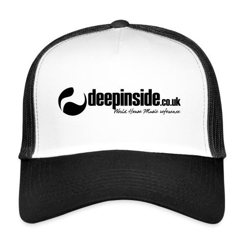 DEEPINSIDE World Reference logo black - Trucker Cap