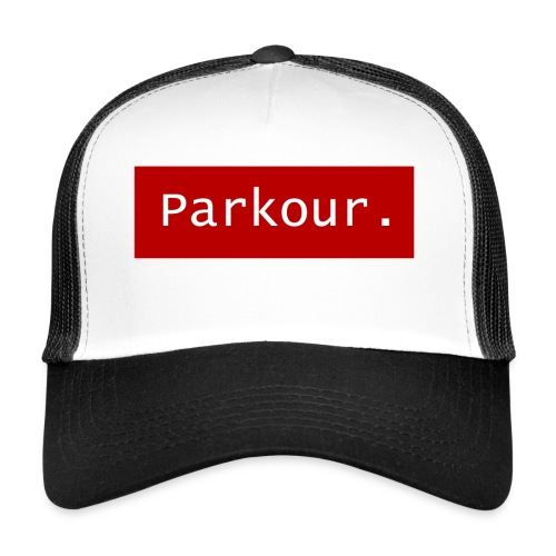 Parkour. - Trucker Cap