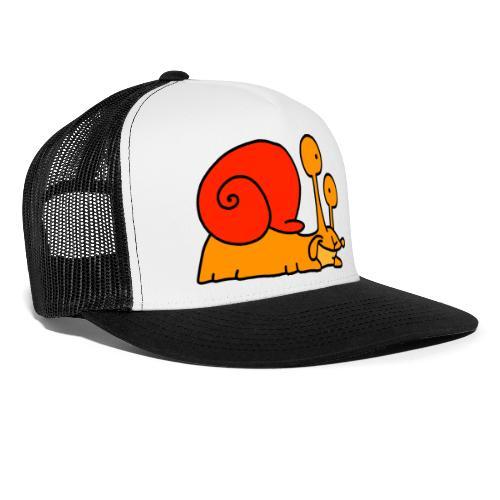 Schnecke Nr 97 von dodocomics - Trucker Cap