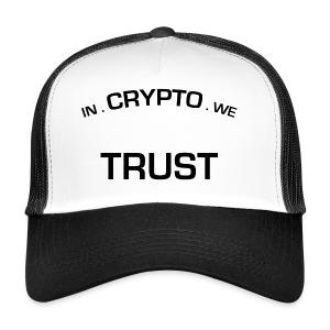 In Crypto we trust - Trucker Cap