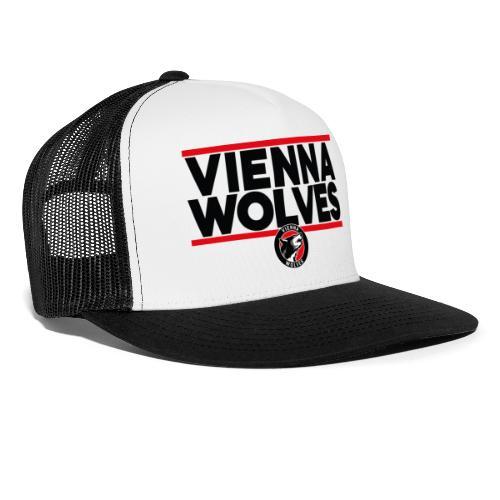 Vienna Wolves Shirt Dunkel-Rot - Trucker Cap