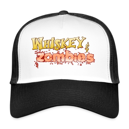 Whiskey Zombies Logo - Trucker Cap