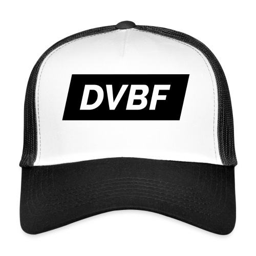 DVBF Svart - Trucker Cap
