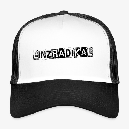 Linzradikal schwarz - Trucker Cap