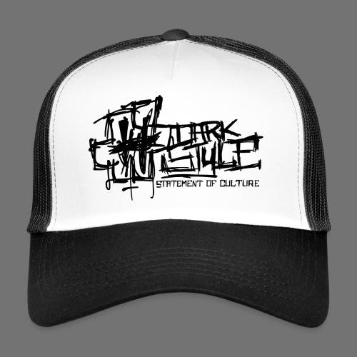 Tumma Style - Statement of Culture (musta) - Trucker Cap