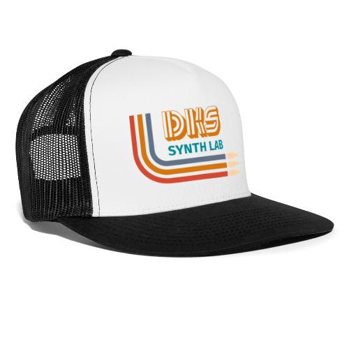 DKS SYNTH LAB curved Orange - Trucker Cap