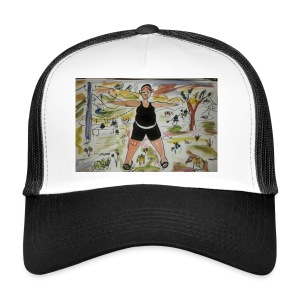 I train - Trucker Cap