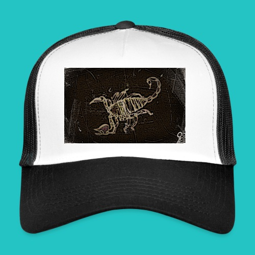 skorpion_grafika-jpg - Trucker Cap