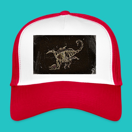 skorpion_grafika-jpg - Trucker Cap