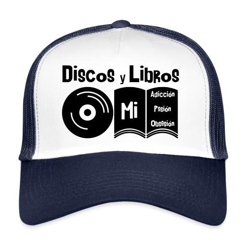 Discos y Libros - Gorra de camionero