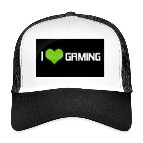 I Love Gaming Shadow Gamer - Trucker Cap