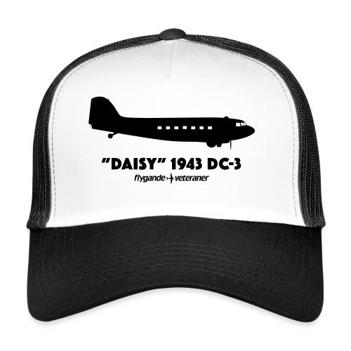 Daisy Silhouette Side 2 - Trucker Cap