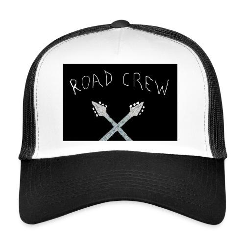Road_Crew_Guitars_Crossed - Trucker Cap