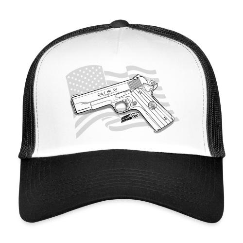 GUN STYLE COLT 45 SPREADS - Trucker Cap