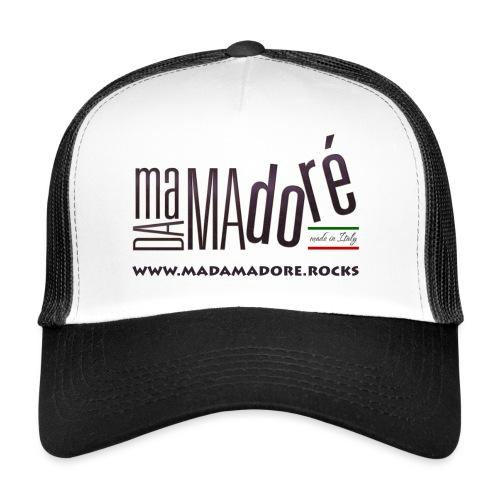 T-Shirt - Donna - Logo Standard + Sito - Trucker Cap