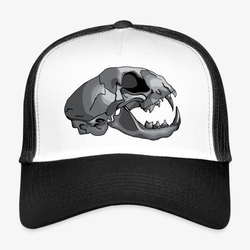 cat skull - Trucker Cap