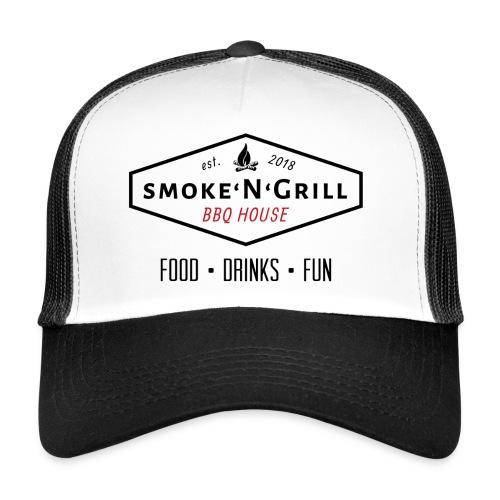 Logo Smoke N Grill OFF - Trucker Cap