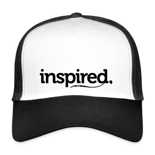 inspired. schwarz - Trucker Cap
