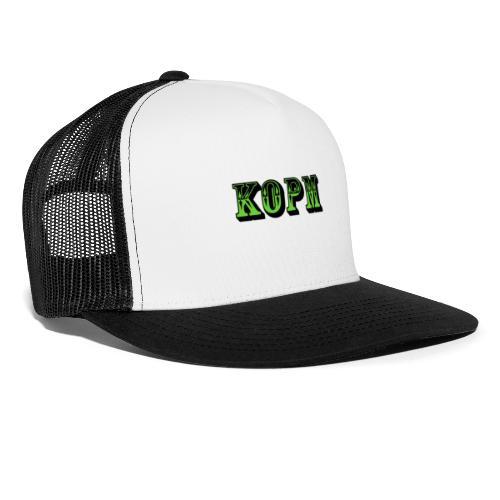 Klant och plant logga förkortning (KEPS EXKLUSIV) - Trucker Cap