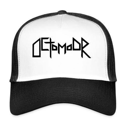 Octomoor Black Logo - Trucker Cap