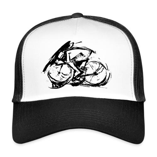 futuristischer radfahrer - Trucker Cap