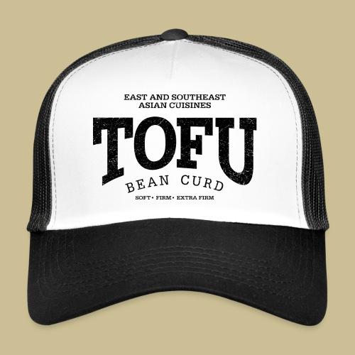Tofu (black oldstyle) - Trucker Cap