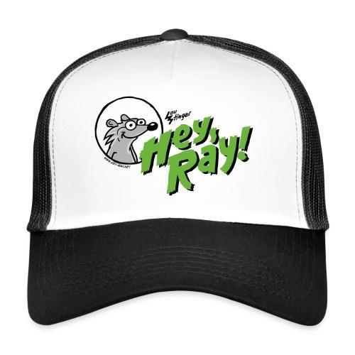 Hey Ray Logo green - Trucker Cap