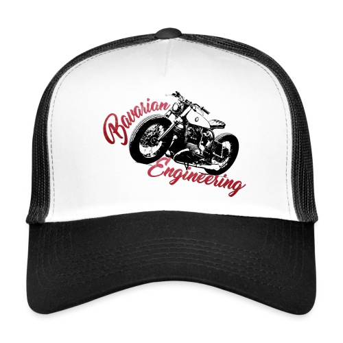 Bavarian Engineering Motorcycle - Trucker Cap