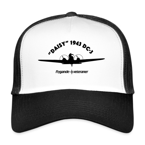 Daisy front silhouette 1 - Trucker Cap