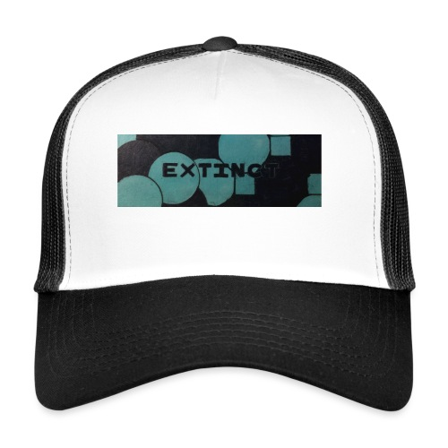 Extinct box logo - Trucker Cap