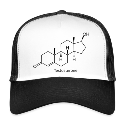 Testosterone - Bodybuilding, Crossfit, Fitness - Trucker Cap