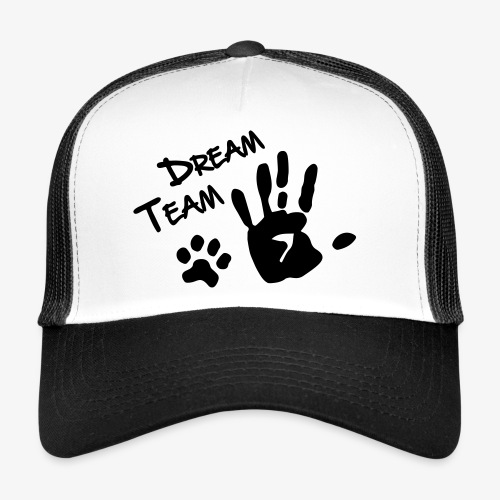 Dream Team Hand Hundpfote - Trucker Cap