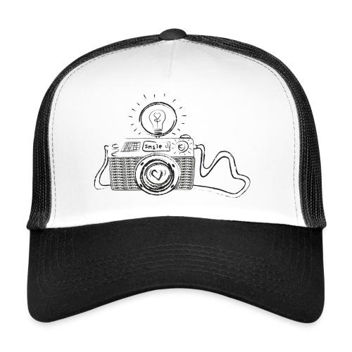 S33 camera-smile - Trucker Cap