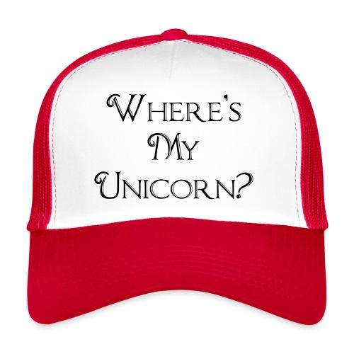 Where's My Unicorn - Trucker Cap